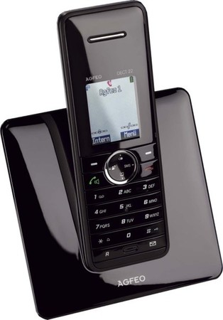Agfeo Analoges Telefon mit Farbdisplay DECT 22 sw