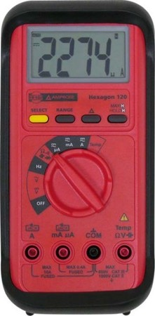 Fluke Digitalmultimeter Hexagon120rt