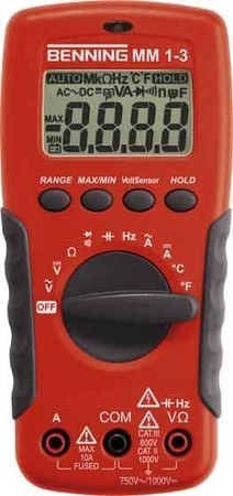Benning Digital Multimeter MM1-3