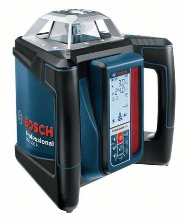 Bosch Power Tools Rotationslaser Set GRL 500 H Prof. Set 0615994