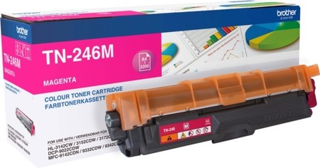 Brother Toner magenta TN-246M