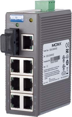 Metz Connect Ethernet Switch MOXA EDS208-M-SC 110196-01