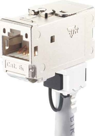 Metz Connect C6Amodul 270 Jack Cat. 6A geschirmt 130B12-E