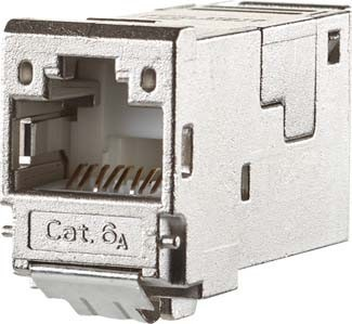 Metz Connect E-DATmodul RJ45 8(8) TN Cat.6A, TIA-A, gesch TN E-D