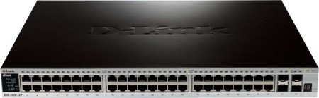 DLink Deutschland 52-Port Gigabit Switch Layer 2 PoE DGS-3420-52