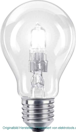 Philips Lighting PLS Halogenlampe 105W E27 klar EcoCl.30 105WE27 25226225