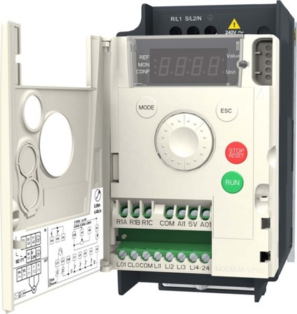 Schneider Electric Frequenzumrichter 1ph. 0,37kW 230V IP20 ATV12
