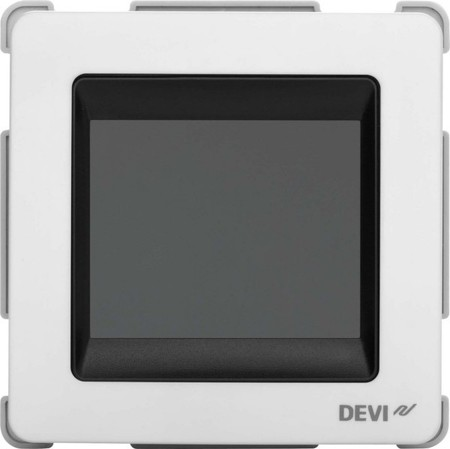 Devi UP-Uhrenthermostat 16A 230V devireg Touch o.Rahm