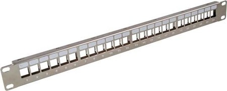EFB-Elektronik Verteilerfeld 482,6mm(19Z) 24-Port 1HE 37576.1