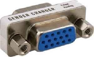 EFB-Elektronik Mini-Gender-Changer High Density 15pol EB420