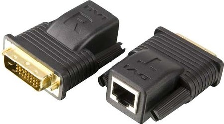 EFB-Elektronik Mini DVI Extender Cat.5 20m VE-066