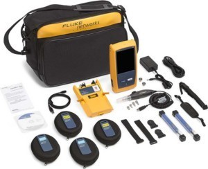 Fluke Networks OptiFiber Pro Quad OTDR m. Inspektions-Kit OFP-10