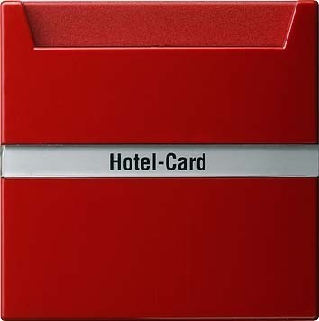 Gira Hotel-Card-Taster rt S-Color 014043