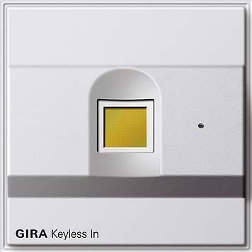Gira Fingerprint rws Keyless In 260766