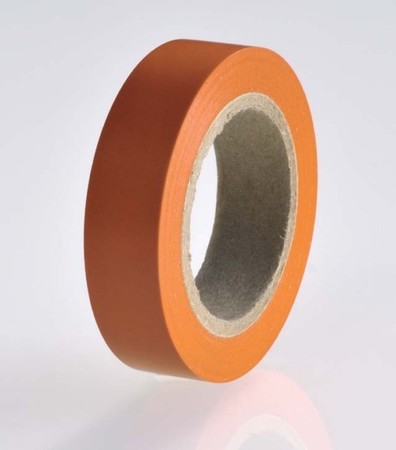 HellermannTyton PVC Isolierband orange Flex 15-OR15x10m
