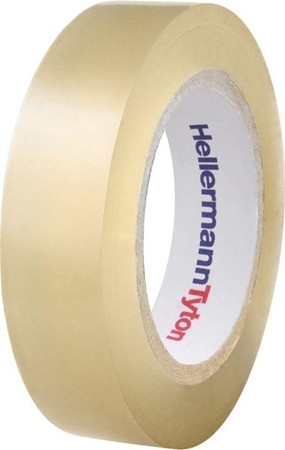 HellermannTyton PVC Isolierband transparent HelaTape Flex 15 CL