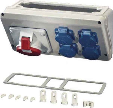 Hensel Mi Connection Box 16A,5p,400V,6h Mi CB 16