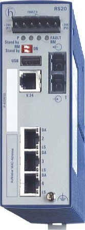 Hirschmann INET Ind.Ethernet Switch RS20-0400M2T1SDAE