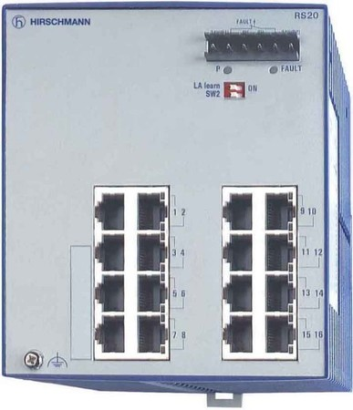 Hirschmann INET Ind.Ethernet Switch RS20-1600T1T1SDAU