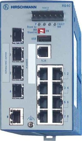 Hirschmann INET Ind.Ethernet Switch RS40-0009CCCCSDAE
