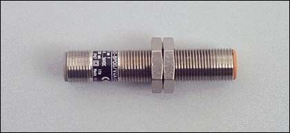 Ifm Electronic Sensor,ind.,M12x1 DC,pnp,sn=2mm,b IF5514