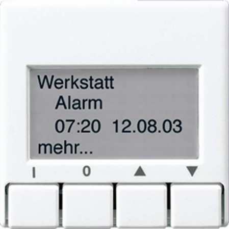 Jung KNX Info-Display ws für Busankoppler A 2041