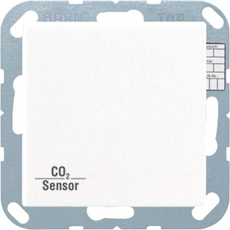 Jung KNX CO2-Sensor, RT-Regler mokka CO2 A 2178 MO