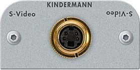 Kindermann Anschlussblende S-Video 7441000404