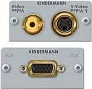 Kindermann Anschlussblende VGA,Video,S-Video 7444000550