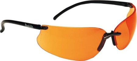 Makita Schutzbrille orange P-66363