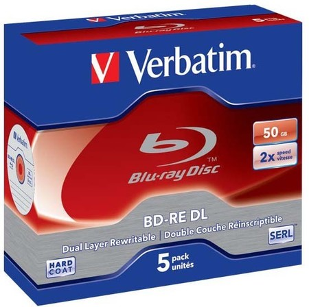 Verbatim BD-RE,DL 50GBJewelcase 17-020-030 (VE5)