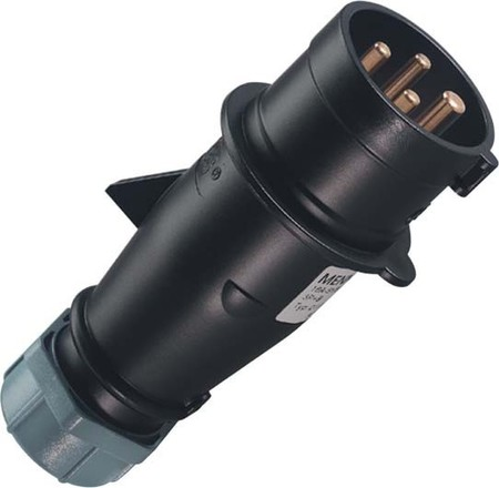 Mennekes Stecker AM-TOP 32A,4p,7h,500V,IP44 265