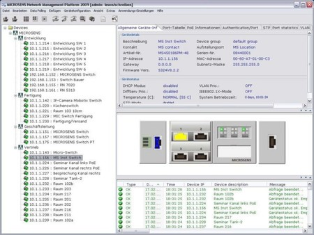 Microsens Management Software NMP Professional MS200160-1