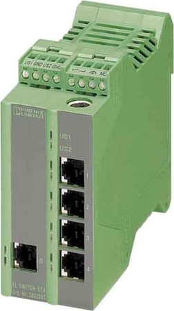 Phoenix Contact Ethernet Managed Switch 5 RJ45-Ports FL SWITCH L