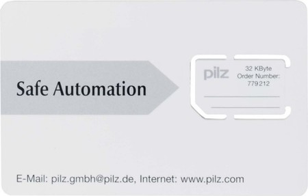 Pilz Chipkarten-Set 1Stk., 32KB 779211