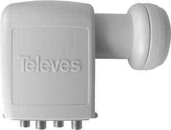 Televes Speisesystem Quad 40mm SPU 44 EN