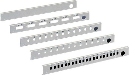 Rittal Patch-Panel f. o.g. Spleissbox DK 7469.535