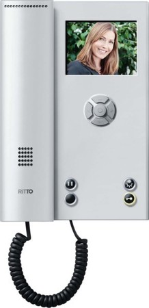 Ritto Video-Hausstation Color Comfort silber RGE1786520