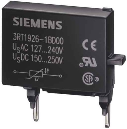 Siemens Indus.Sector RC-Glied AC127..240DC150..250 3RT1916-1CD00