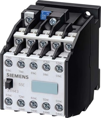 Siemens Indus.Sector Hilfsschütz AC-Bet. 500VAC 50Hz 3TH4355-0AS
