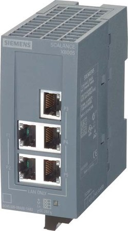 Siemens Indus.Sector Scalance XB005 IE Switch 6GK5005-0BA00-1AB2
