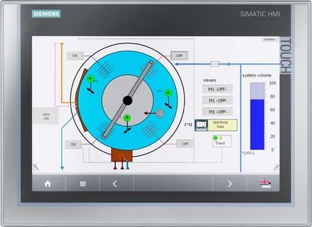 Siemens Indus.Sector Simatic Panel 19 Zoll Touch 6AV7875-0CE20-1