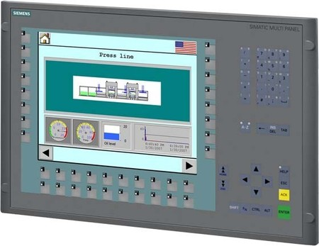 Siemens Indus.Sector Farb-TFT-Display Simatic 12 Zoll 12MB 6AV66