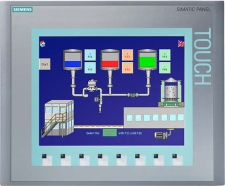Siemens Indus.Sector Touch Screen 10,4 TFT Display 6AV6647-0AF11