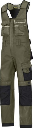 Hultafors (Snickers) DuraTwill Kombihose olive, Gr.84 0312320408