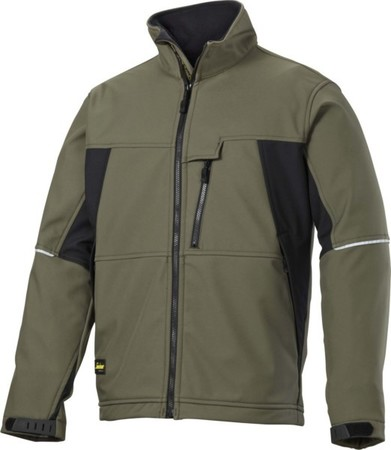 Hultafors (Snickers) SoftShell Jacke olive, Gr.XS Reg. 121232040