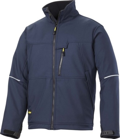 Hultafors (Snickers) SoftShell Jacke Navy, Gr.M Regular 12129500