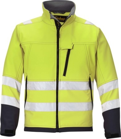 Hultafors (Snickers) High Vis Softshell Jacke ge, Gr.L Regular 1