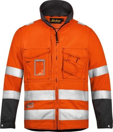 Hultafors (Snickers) High Vis Jacke orange Kl.3, Gr.XS Regular 1