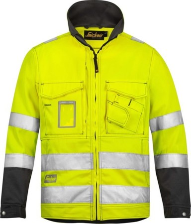 Hultafors (Snickers) High Vis Jacke gelb Kl.3, Gr.M Regular 1633